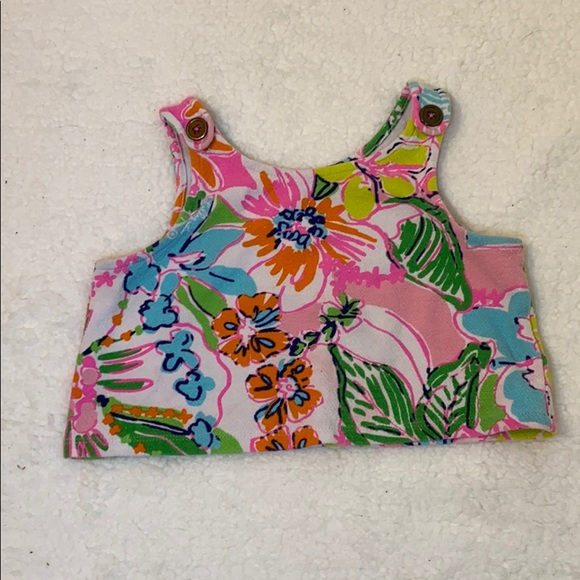 Lilly Pulitzer Patterned Crop Top